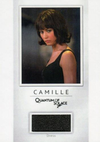 James Bond Classics 2016 Camille Relic Costume Card PR6 #118/200   - TvMovieCards.com