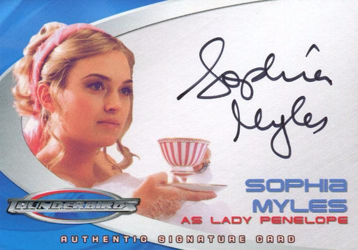 Thunderbirds Are Go! Movie Sophia Myles Autograph Card AC3   - TvMovieCards.com