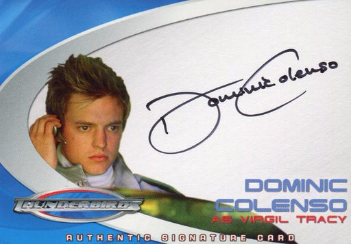 Thunderbirds Are Go! Movie Dominic Colenso Autograph Card AC6   - TvMovieCards.com