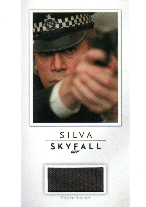 James Bond Archives Final Edition 2017 Relic Costume Card PR27 #147/200   - TvMovieCards.com
