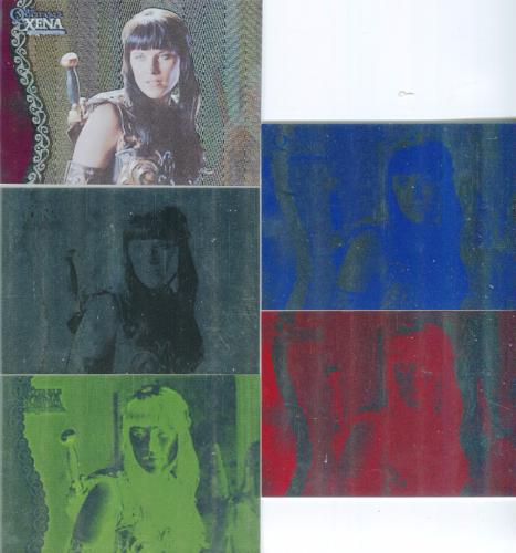 Xena The Quotable Xena Progressive Proof Card Set Card #61   - TvMovieCards.com