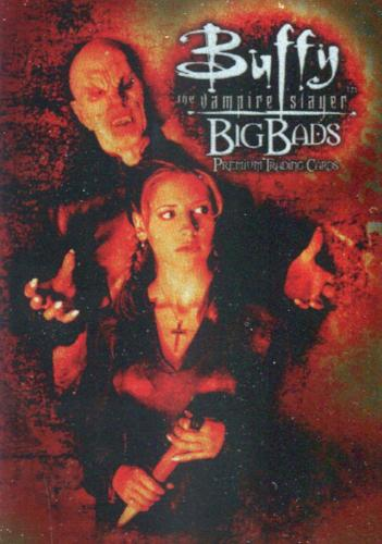 Buffy The Vampire Slayer Big Bads Base Card Set 72 Cards   - TvMovieCards.com