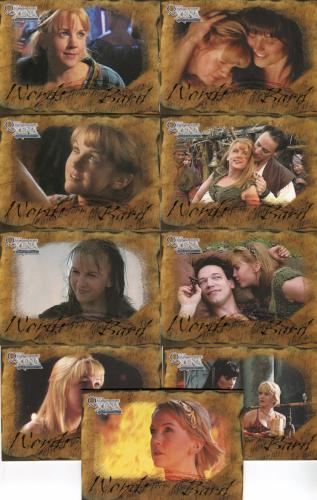 Xena The Quotable Xena Words from the Bard Chase Card Set   - TvMovieCards.com