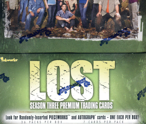 Lost Season 3 Card Box 36 Packs Inkworks 2007   - TvMovieCards.com