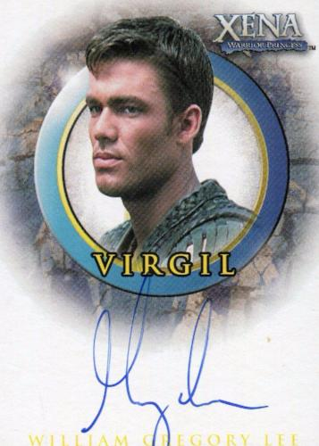 Xena The Quotable Xena William Gregory Lee as Virgil Autograph Card A50   - TvMovieCards.com