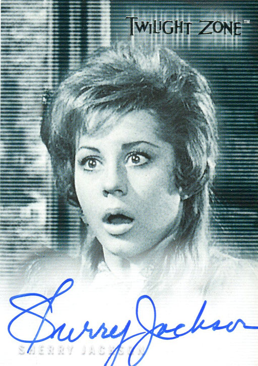 Twilight Zone 2 The Next Dimension Sherry Jackson Autograph Card A-33   - TvMovieCards.com