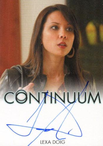 Continuum Seasons 1 & 2 Lexa Doig as Sonya Valentine Autograph Card   - TvMovieCards.com