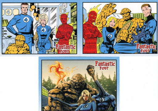 Fantastic Four Archives Promo Card Lot 3 Cards P1 P2 CP2   - TvMovieCards.com