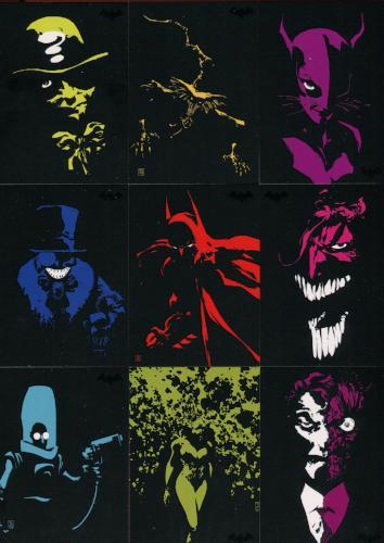 Batman Archives DC Dark Victory Chase Card Set DV1 thru DV9   - TvMovieCards.com