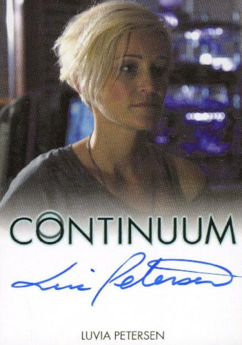 Continuum Seasons 1 & 2 Luvia Petersen as Jasmine Garza Autograph Card   - TvMovieCards.com