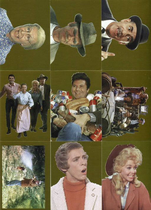 Beverly Hillbillies Black Gold Foil Chase Card Set 9 Cards Eclipse 1993   - TvMovieCards.com