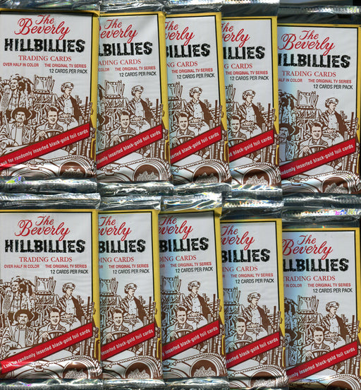 Beverly Hillbillies Card Pack Lot 10 Packs Eclipse 1993   - TvMovieCards.com