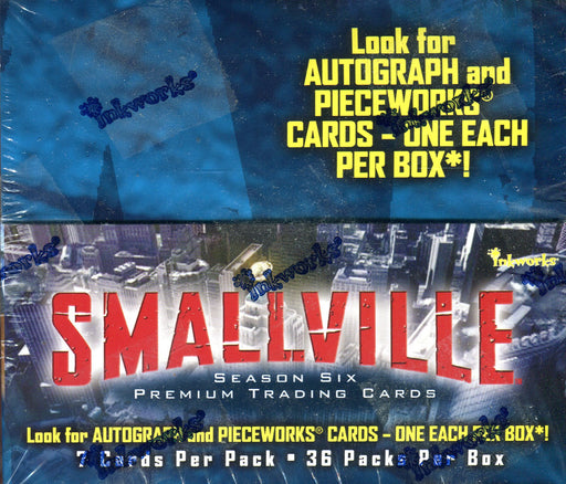 Smallville Season 6 Card Box 36 Packs Inkworks 2008   - TvMovieCards.com