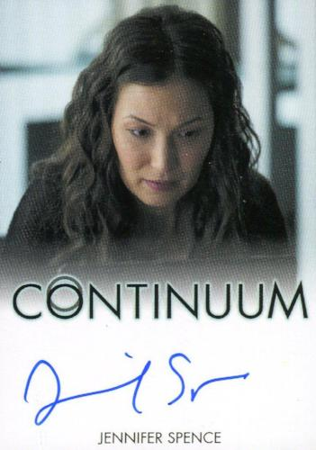 Continuum Seasons 1 & 2 Jennifer Spence as Betty Robertson Autograph Card   - TvMovieCards.com