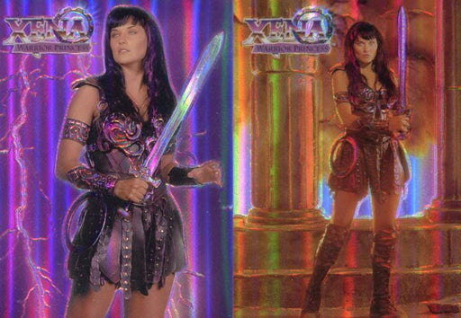 Xena Series One Topps Finest Refractor Chase Card Set   - TvMovieCards.com