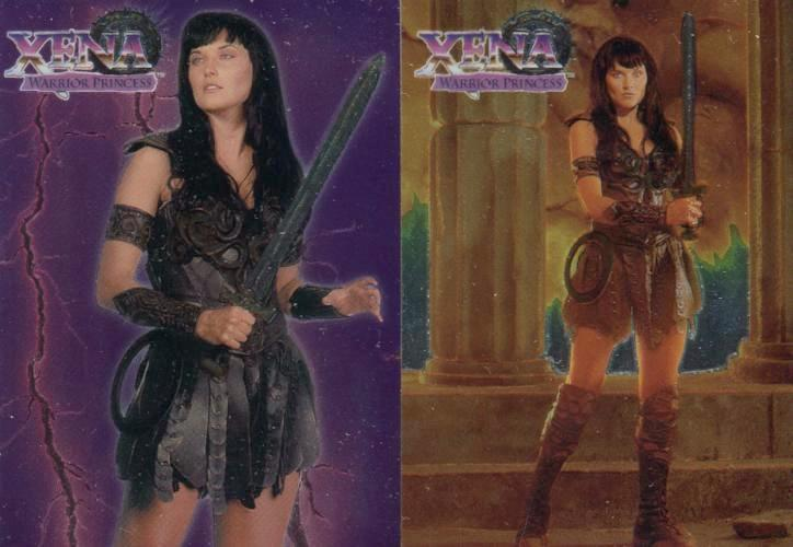 Xena Series One Topps Finest Chromium Chase Card Set   - TvMovieCards.com