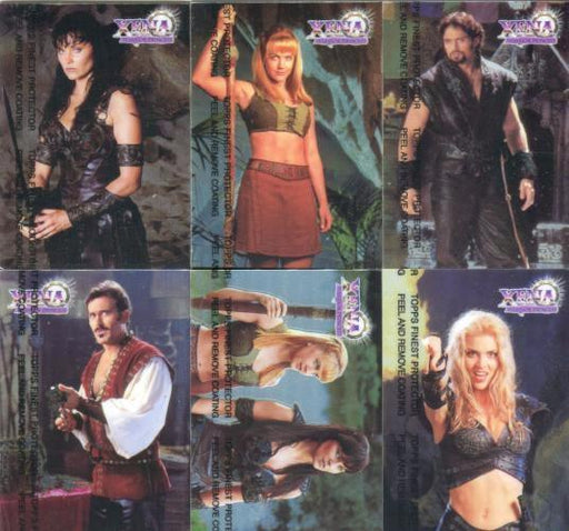 Xena Series II Two Topps Finest Chromium Chase Card Set   - TvMovieCards.com