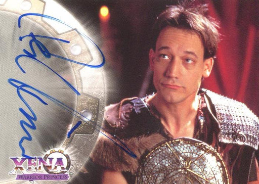 Xena Series II Two Topps Ted Raimi as Joxer Autograph Card A1   - TvMovieCards.com