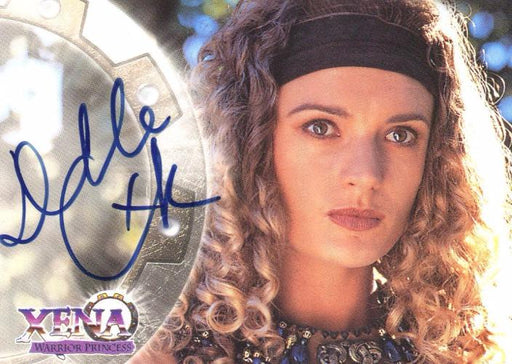 Xena Series II Two Topps Danielle Cormack as Ephiny Autograph Card A10   - TvMovieCards.com