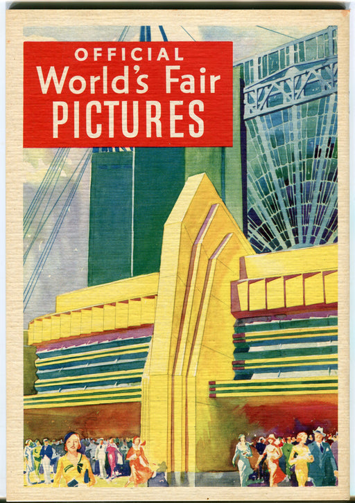 A Century of Progress 1933 Official Pictures Chicago Illinois Worlds Fair Book   - TvMovieCards.com