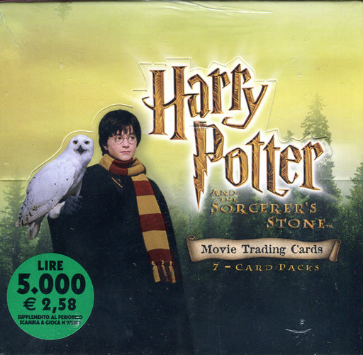 Harry Potter and the Sorcerer's Stone Widevision Card Box 2001   - TvMovieCards.com