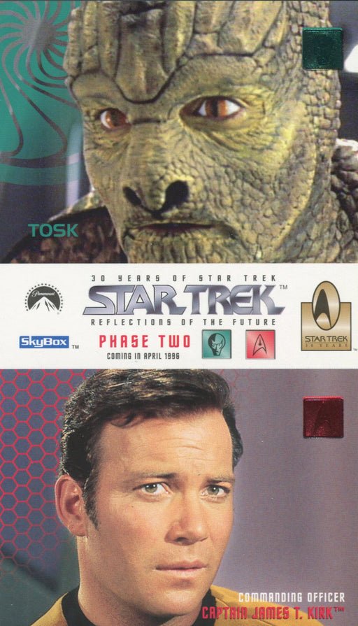Star Trek 30 Years Phase 2 Two Oversize Promo Card Single Card   - TvMovieCards.com