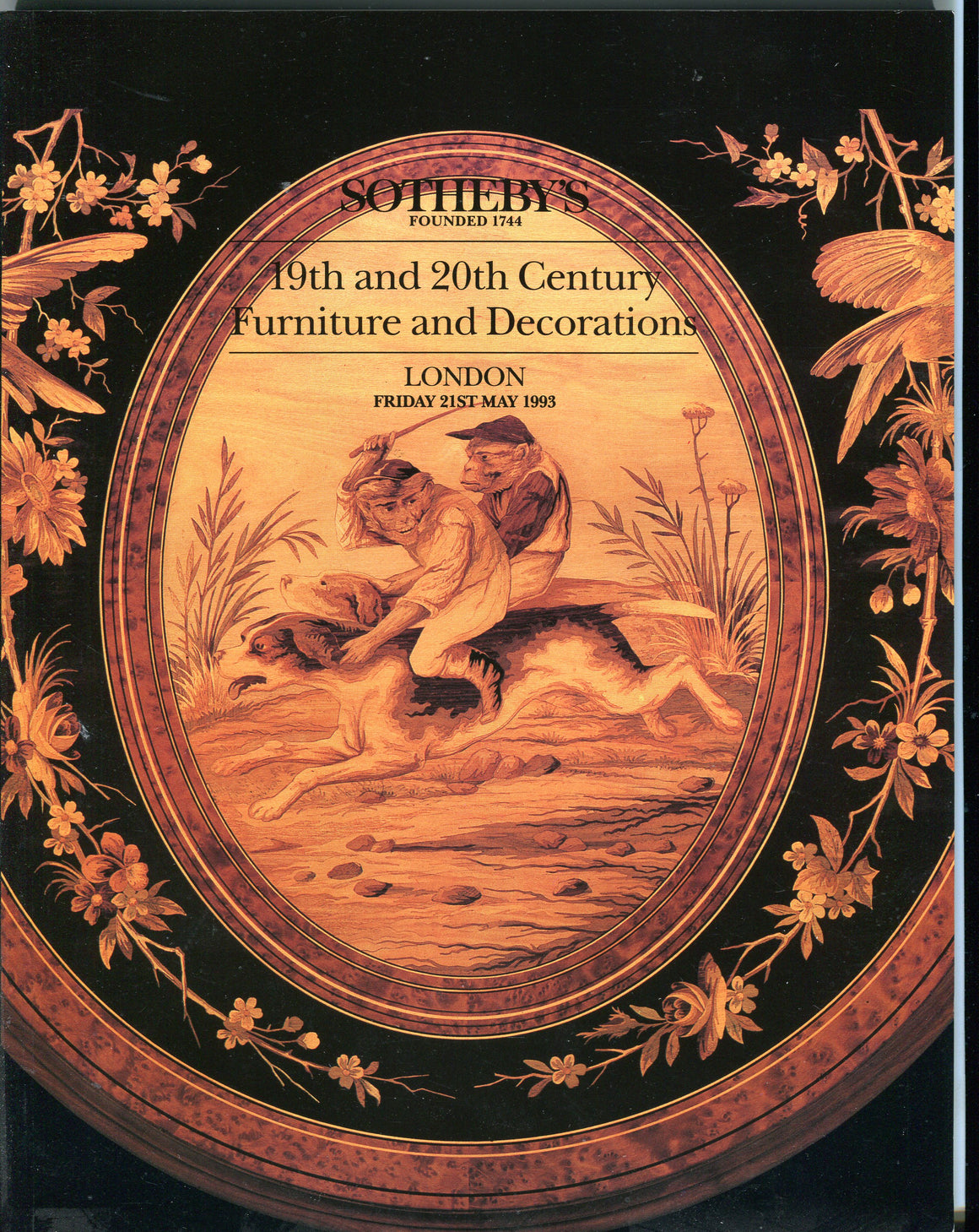 Sothebys Auction Catalog May 21 1993 19th 20th Century Furniture & Decorations