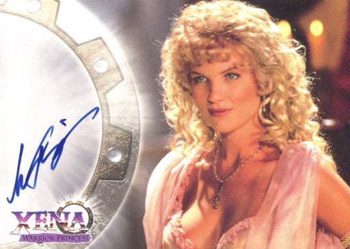 Xena Series II Two Topps Alexandra Tydings as Aphrodite Autograph Card A7   - TvMovieCards.com
