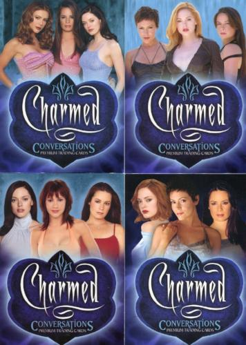 Charmed Conversations Promo Card Lot 4 Cards   - TvMovieCards.com