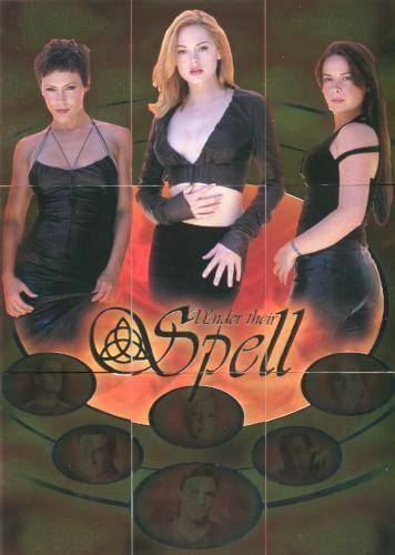 Charmed Connections Limited Under Their Spell Uncut Mini Press Sheet #7 of 299   - TvMovieCards.com