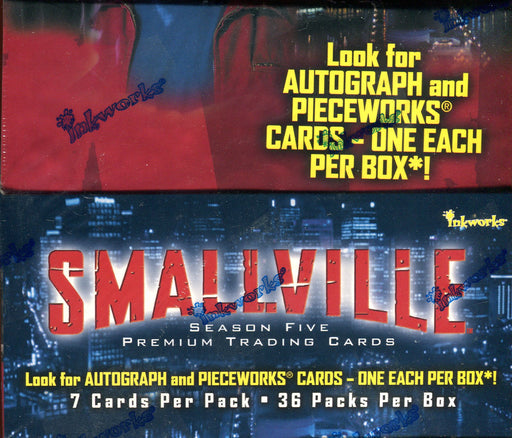 Smallville Season 5 Card Box 36 Packs Inkworks 2006/2007   - TvMovieCards.com