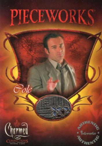 Charmed Connections Julian McMahon as Cole Pieceworks Costume Card PWC6   - TvMovieCards.com