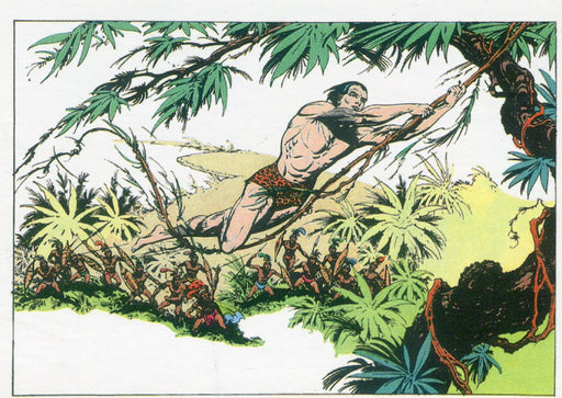 Tarzan 100th Anniversary Single Promo Card P5 Cryptozoic 2012