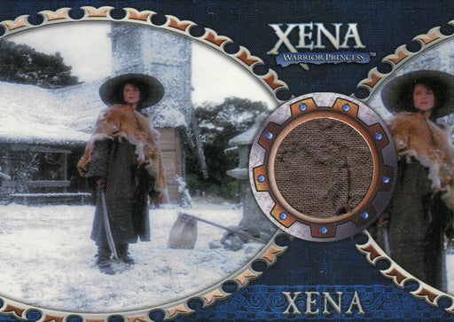 Xena Dangerous Liaisons Lucy Lawless as Xena Costume Card C7   - TvMovieCards.com