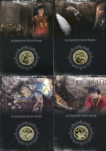 Harry Potter 2006 San Diego Comic Con Gold Prop Card HP Set CC1 CC8 Front1