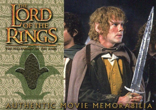Lord of the Rings Fellowship Update Merry's Travel Coat Costume Card   - TvMovieCards.com