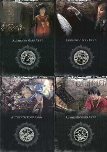 Harry Potter 2006 San Diego Comic Con Silver Prop Card HP Set CC1 CC8   - TvMovieCards.com