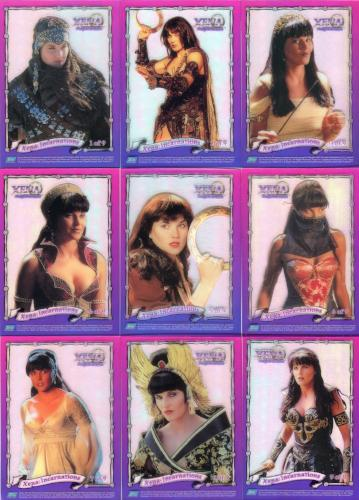 Xena Series III Three Topps Incarnations Clearchrome Chase Card Set   - TvMovieCards.com