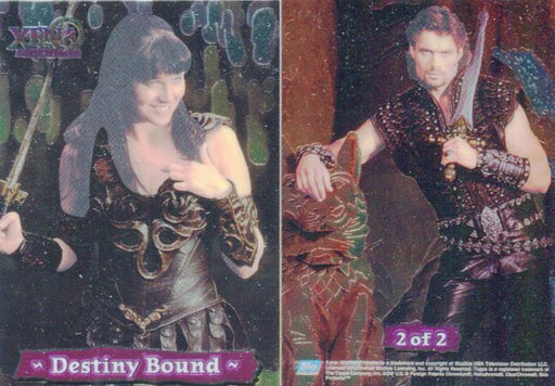 Xena Series III Three Topps Destiny Bound Chase Card Set   - TvMovieCards.com