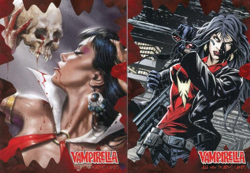 Vampirella New Series Promo Card Lot 2 Cards   - TvMovieCards.com