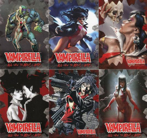 Vampirella New Series Promo Card Lot 6 Cards   - TvMovieCards.com