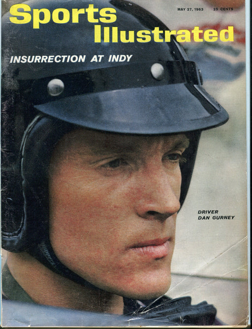 May 27 1963 Sports Illustrated Magazine - Dan Gurney Indy Race Car Driver   - TvMovieCards.com