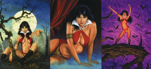 Vampirella Best of Jusko Chase Card Set 3 Cards   - TvMovieCards.com