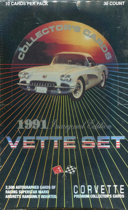 Vette Set - Corvette Card Box   - TvMovieCards.com