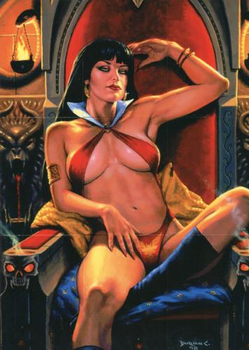 Vampirella Puzzle Chase Card Set 9 Cards   - TvMovieCards.com