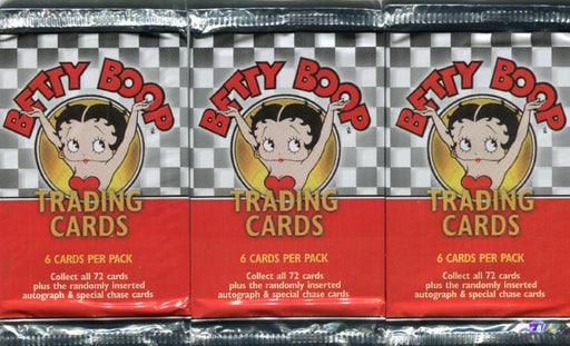 Betty Boop Cartoon Card Pack Lot 24 Sealed Packs Dart Flipcards 2001   - TvMovieCards.com