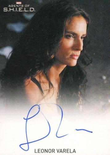 Agents of S.H.I.E.L.D. Season 1 Leonor Varela Autograph Card   - TvMovieCards.com