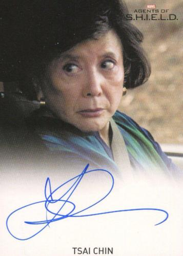 Agents of S.H.I.E.L.D. Season 1 Tsai Chin Autograph Card   - TvMovieCards.com