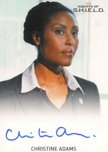 Agents of S.H.I.E.L.D. Season 1 Christine Adams Autograph Card   - TvMovieCards.com