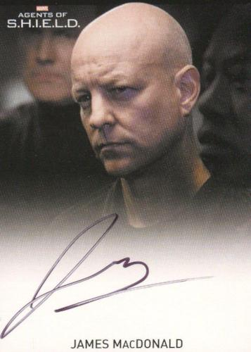 Agents of S.H.I.E.L.D. Season 1 James MacDonald Autograph Card   - TvMovieCards.com